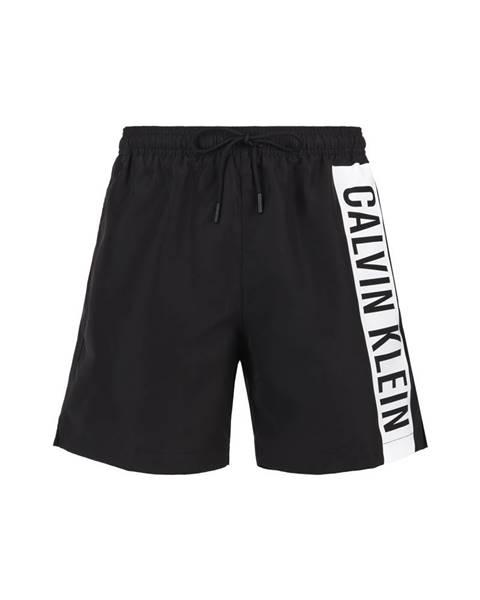 Čierne plavky Calvin Klein