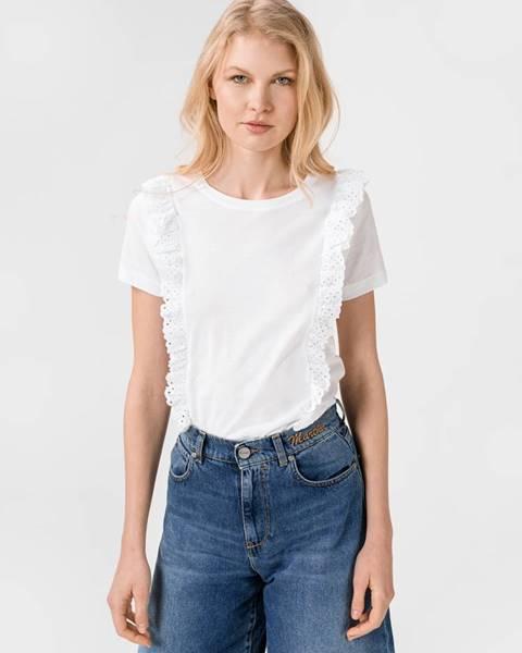 Biele tričko Pepe jeans