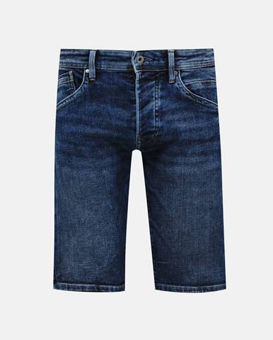 Tmavomodré kraťasy Pepe jeans
