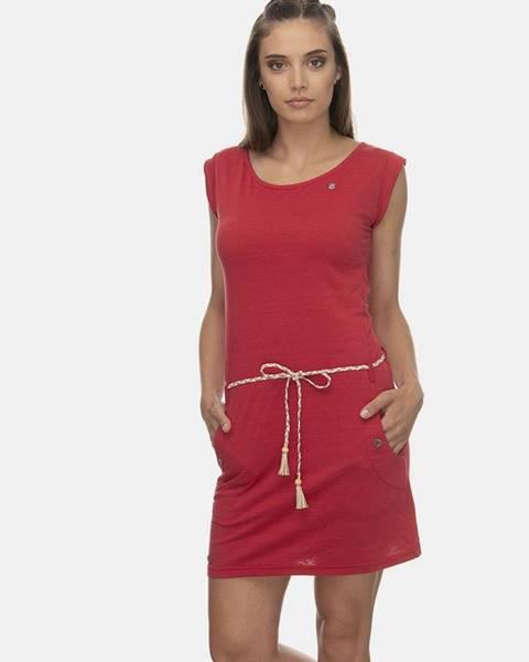 Červené šaty Ragwear