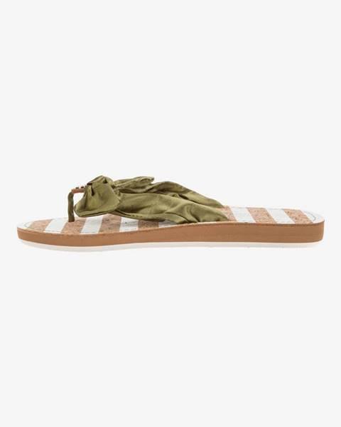 Zelené sandále Tom Tailor