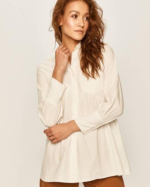 Biela košeľa Answear