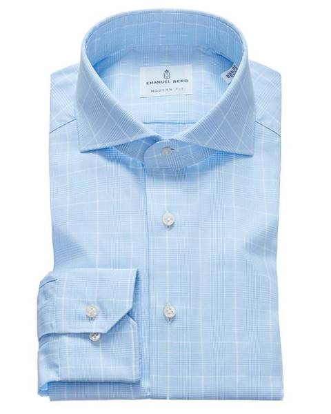 Modrá košeľa Emanuel Berg