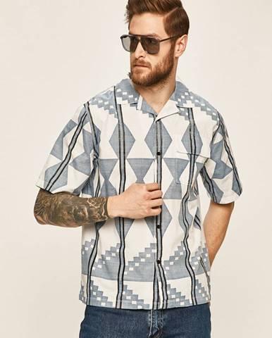 Modrá košeľa Levi's Made & Crafted