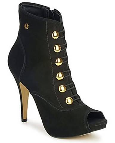 Čierne topánky Carmen Steffens