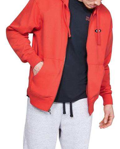 Červená bunda s kapucňou Under Armour