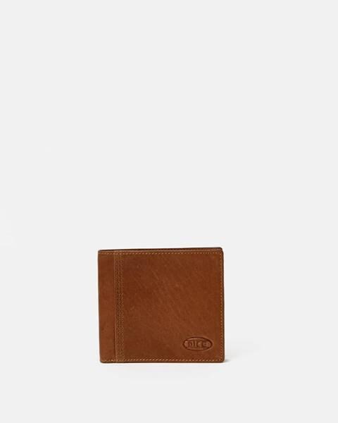 Hnedá peňaženka Dice