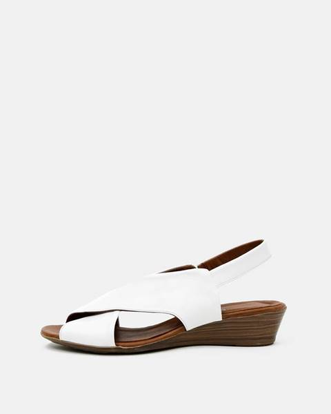 Biele sandále wild