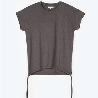 Tričko s krátkym rukávom a s okrúhlym výstrihom