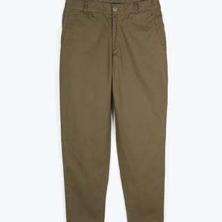 Základné bavlnené nohavice chino