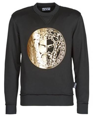 Čierna mikina Versace Jeans Couture