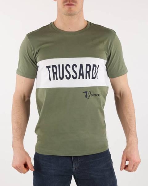 Zelené tričko Trussardi