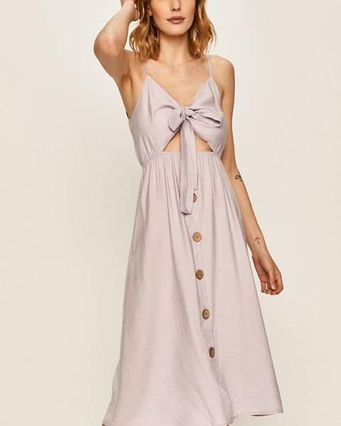 Fialové šaty Answear