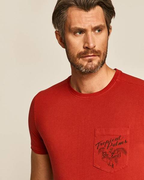 Červené tričko MEDICINE