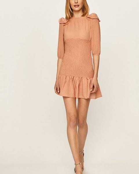 Ružové šaty Answear