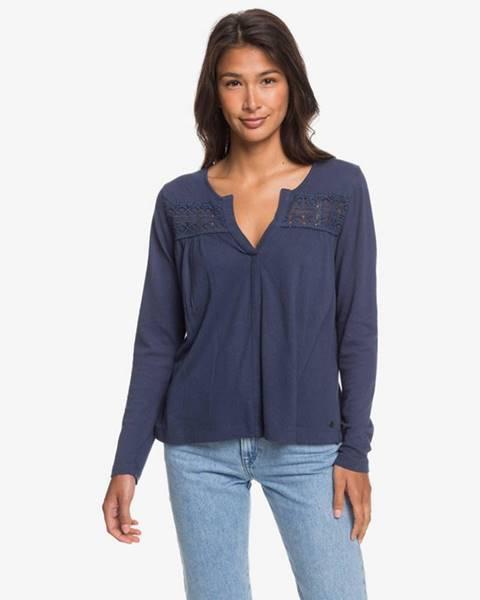 Modré tričko Roxy