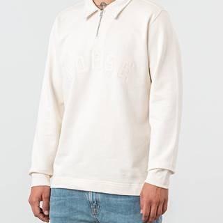 Norse Projects Jorn Half Zip Sweatshirt Ecru