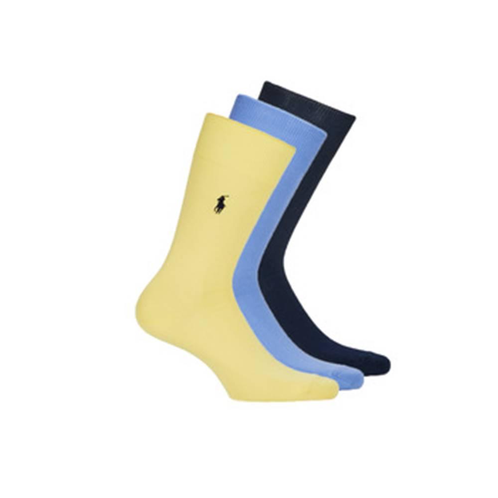 Polo Ralph Lauren Ponožky Polo Ralph Lauren  MERC SOLI PP-CREW-3 PACK