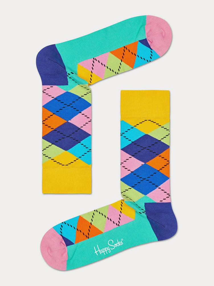 Happy Socks Ponožky Happy Socks Argyle Sock Farebná