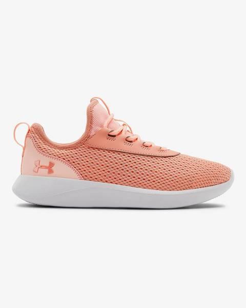 Oranžové topánky Under Armour