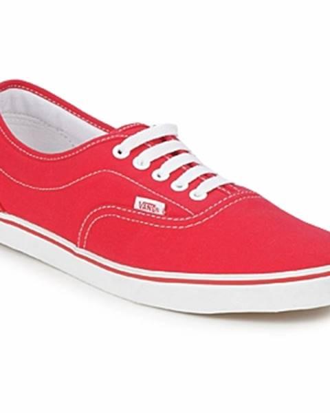 Červené tenisky Vans