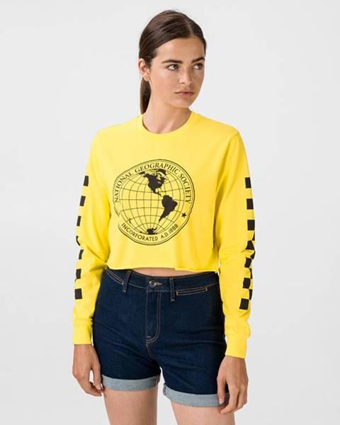Žlté tričko Vans