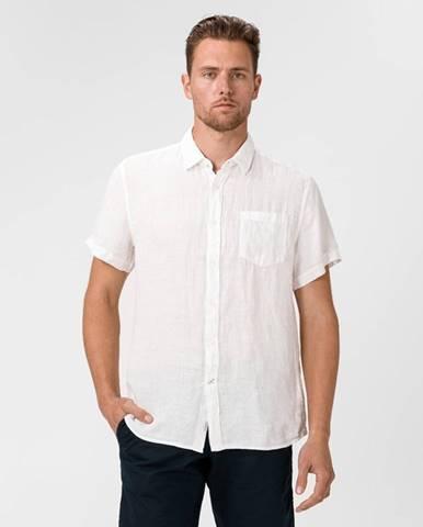 Biela košeľa Pepe jeans