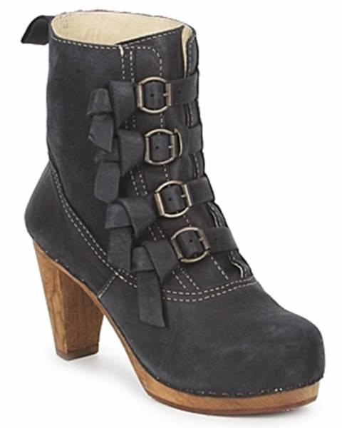 Čierne topánky Sanita