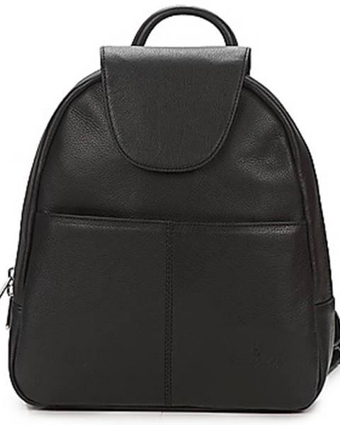 Čierny batoh Hexagona