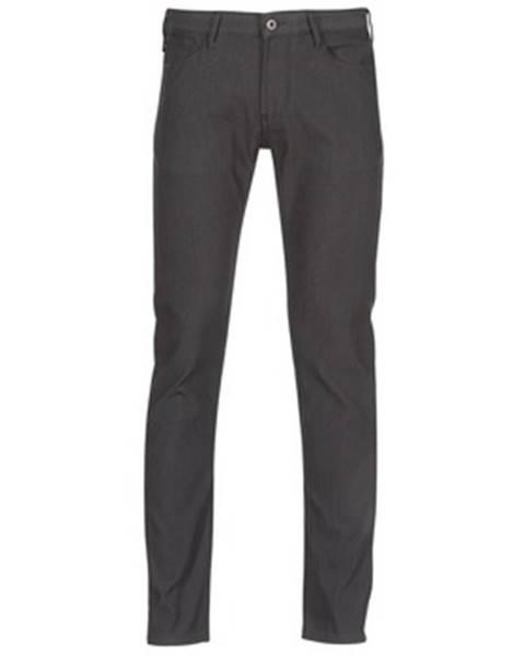 Čierne nohavice Emporio Armani