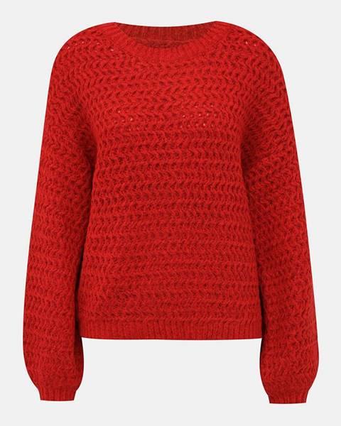 Červená mikina Vero Moda