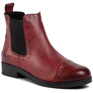 Členkové topánky Lasocki TTT-OLBIA-02 koža(useň) lícová