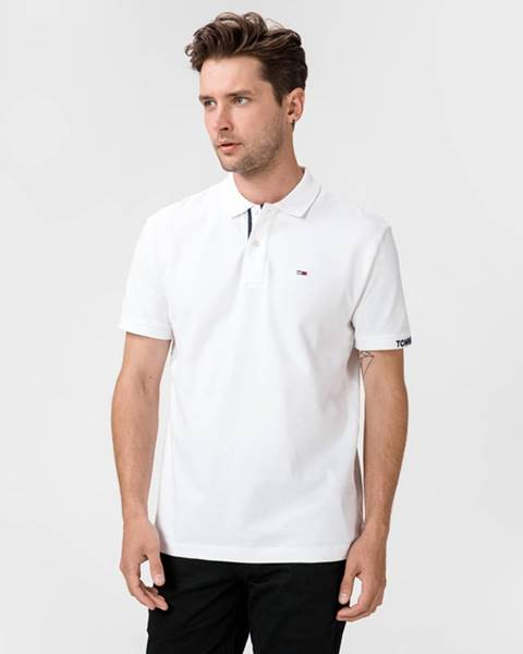 Biele tričko Tommy Jeans