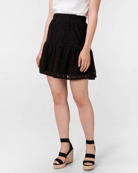 Čierna sukňa Vero Moda