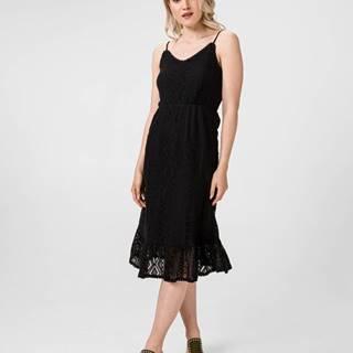 Vero Moda Lea Šaty Čierna