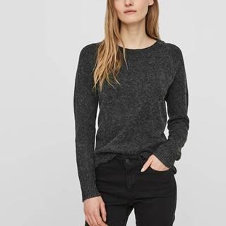 Čierny sveter VERO MODA Doffy
