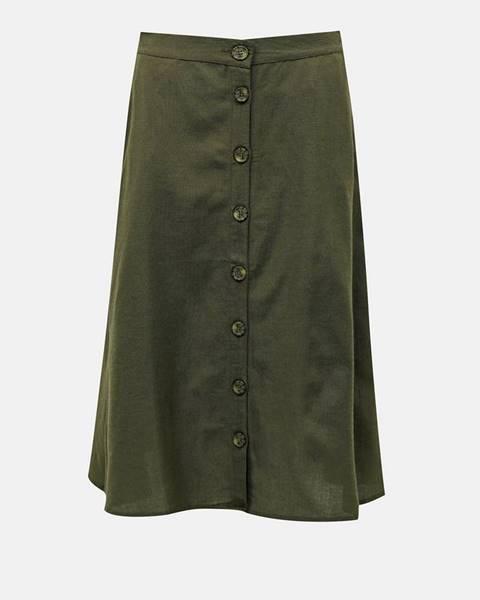 Zelená sukňa Only