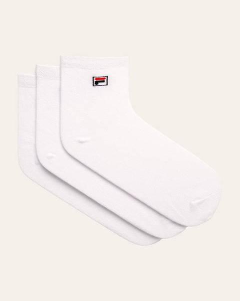 Biele ponožky Fila