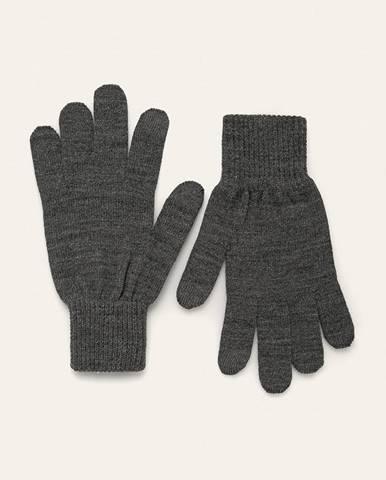 Sivé rukavice Levi's