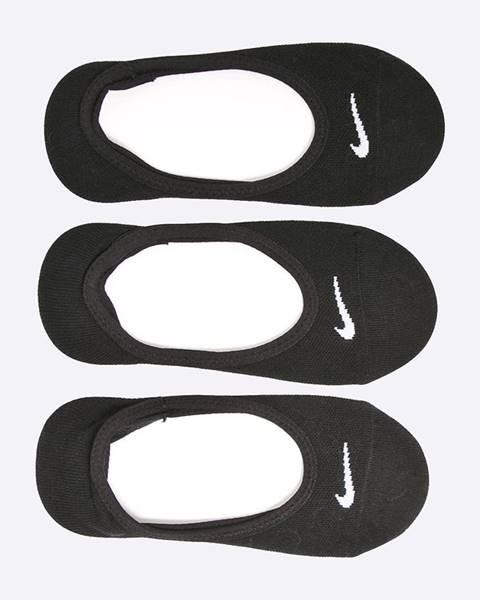 Čierne ponožky Nike