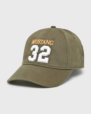 Zelená čiapka Mustang