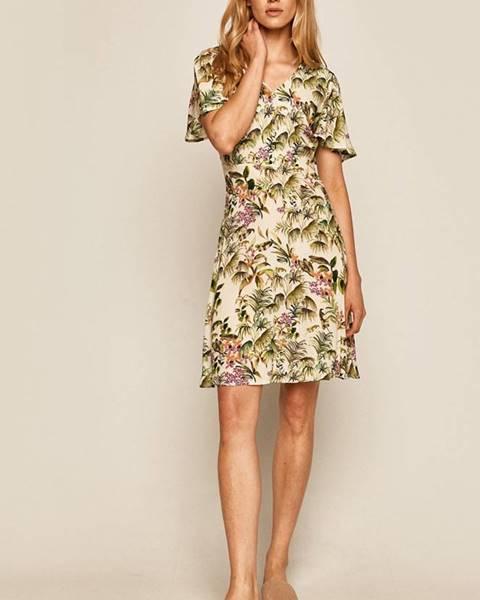 Béžové šaty MEDICINE