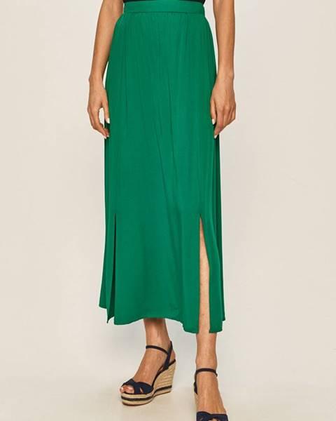 Zelená sukňa Vila