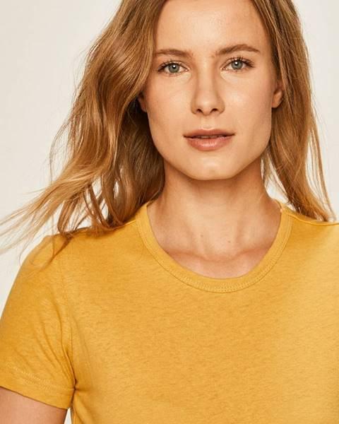 Žlté tričko Brixton
