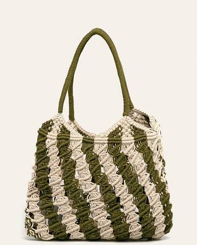 Zelená kabelka Pieces