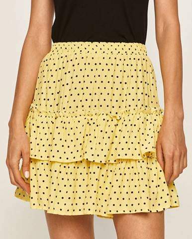 Žltá sukňa Answear