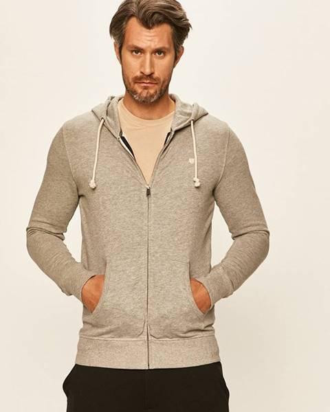 Sivá bunda s kapucňou Premium by Jack&Jones