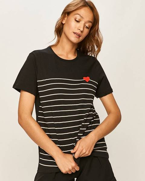 Tmavomodré tričko Answear