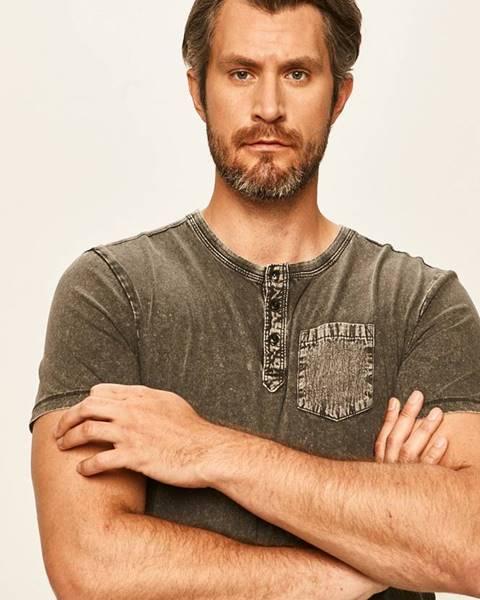 Sivé tričko Tom Tailor Denim