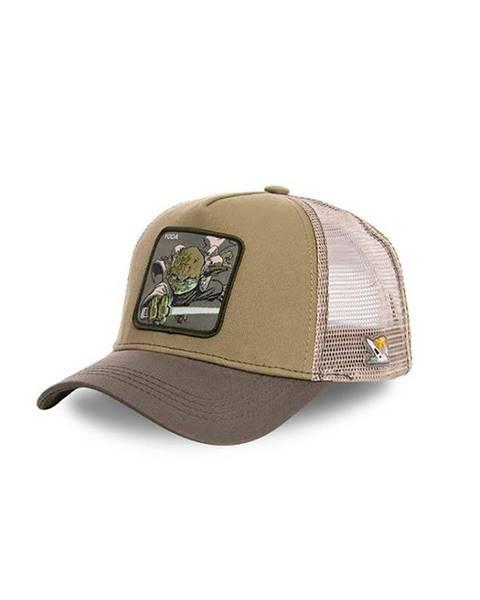 Hnedá čiapka CapsLab